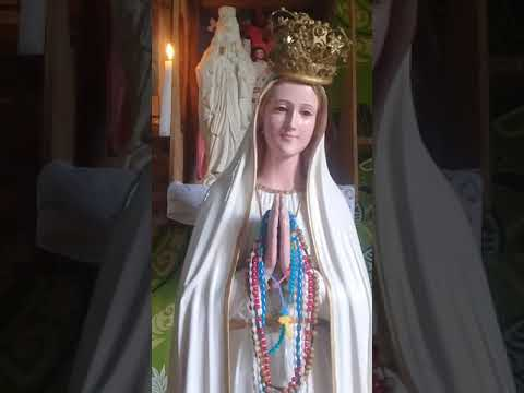 Mother Mary In Tears ...Miracle Of Mother Mary Here In Taveuni