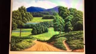 Minhas pinturas de paisagens,animais,flores e natureza morta.