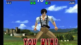 Tekken 2 ( PS1 ) - Lei - Arcade Mode - Original Music ( May 9, 2017 ) thumbnail