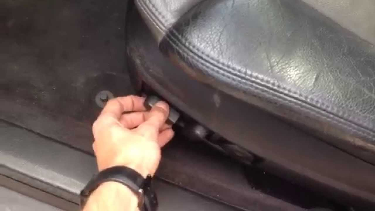how to fix power seat on audi a4 a6 allroad if it wont move  [ 1280 x 720 Pixel ]