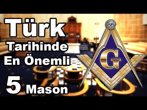 Adını Duyunca Çok Şaşıracağınız 5 önemli Türk Mason