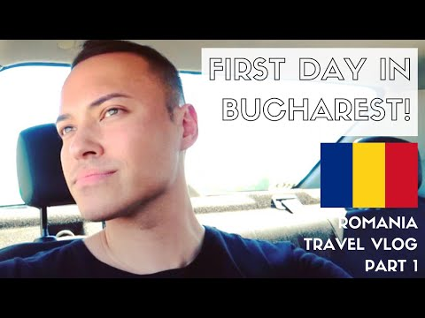 FIRST IMPRESSIONS OF BUCHAREST + LEARNING ROMANIAN | ROMANIA TRAVEL VLOG 2018 | PART 1