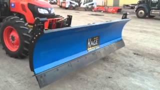 Kubota M9960 w/ Kage SnowStorm Blade/Pusher