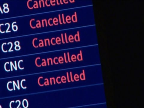 Airport delays may last for days