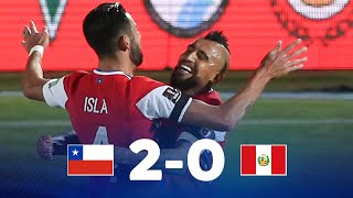 Eliminatorias   Chile vs Perú    Fecha 3