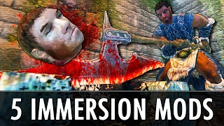 Skyrim Mods: 5 Immersion Mods - Executions, Battle Aftermath & More!