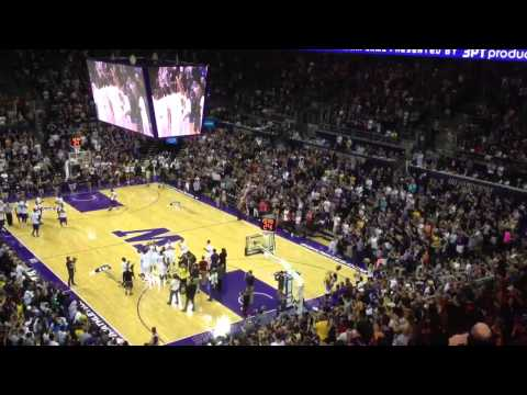 Brandon Roy intro - 2013 UW Alumni basketball game