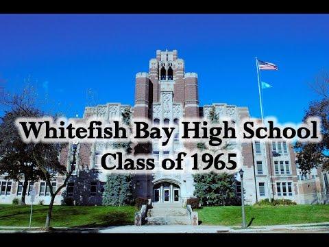 Whitefish Bay High School Class Of 1965 Invitation