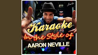 The Grand Tour (In the Style of Aaron Neville) (Karaoke Version)