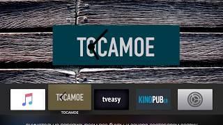 TOCAMOE | Скачиваем и настраиваем приложение из AppStore для Apple TV 4/4K