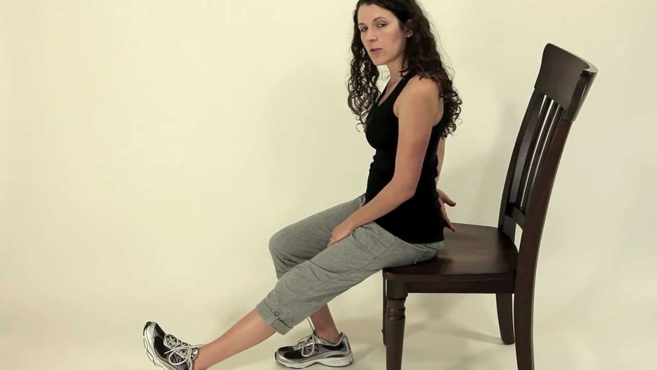 Leg Exercise Seated Hamstring Stretch 1 Youtube