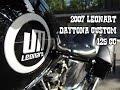 2007 LeonART Daytona Custom 125 cc - HillbillyGarage Ep6