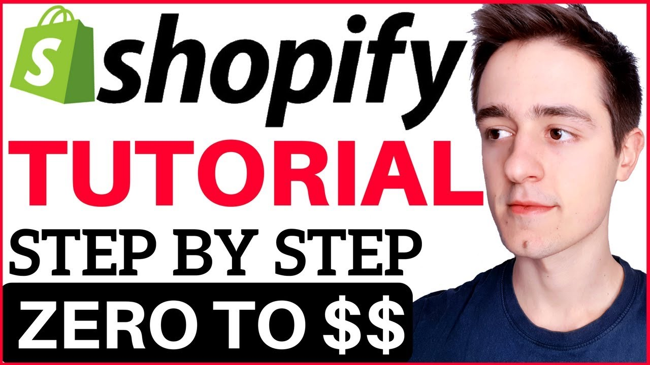 Shopify Tutorial For Beginners 2019 How To Create A Profitable
