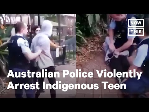 Indigenous Teen Violently Arrested by Australian Police | No