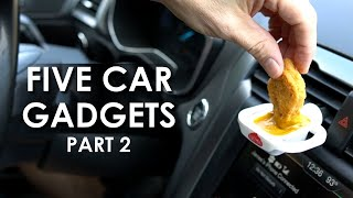 Testing 5 Car Gadgets Part 2, Plus Bonus Review