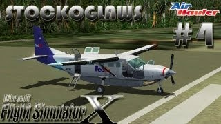 Lets Play FSX - Air Hauler Add on - Episode 4 (Off to  Sylt  ! )