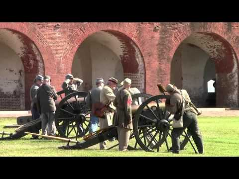Fort Pulaski the 150th Anniversary of the Battle Living History April 14 and 15 2012