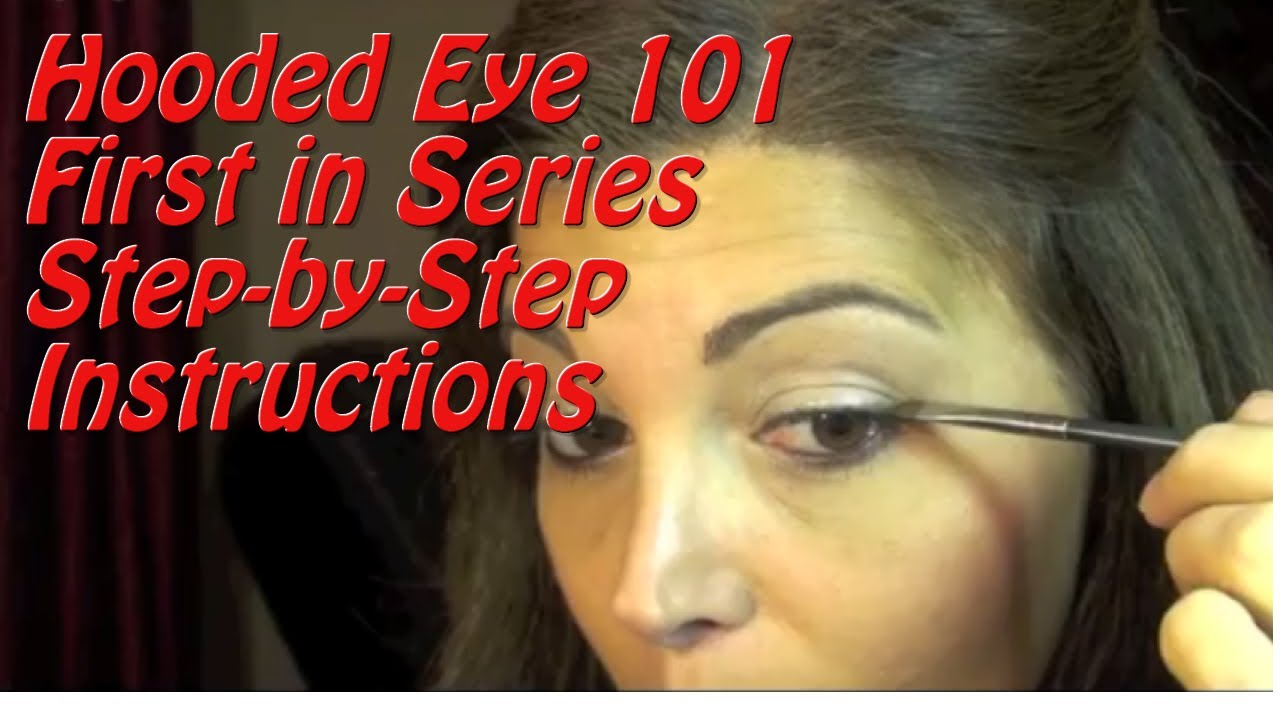 Hooded Eye Tutorial How To Apply Eye Makeup On A Fully Hooded Or