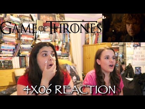"""GAME OF THRONES 4X06 """"THE LAWS OF GODS AND MEN"""" REACTION"""