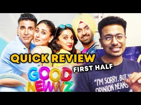 Good Newwz QUICK REVIEW | Akshay Kumar, Kareena Kapoor, Diljit Dosanjh, Kiara Advani
