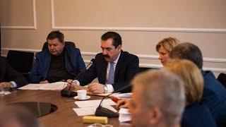 Sesja rady powiatu ostrowskiego (12.01.2018)