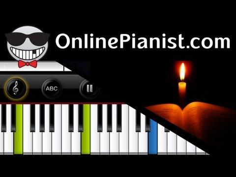 Gospel - Go Down Moses (Let My People Go) - Piano Tutorial