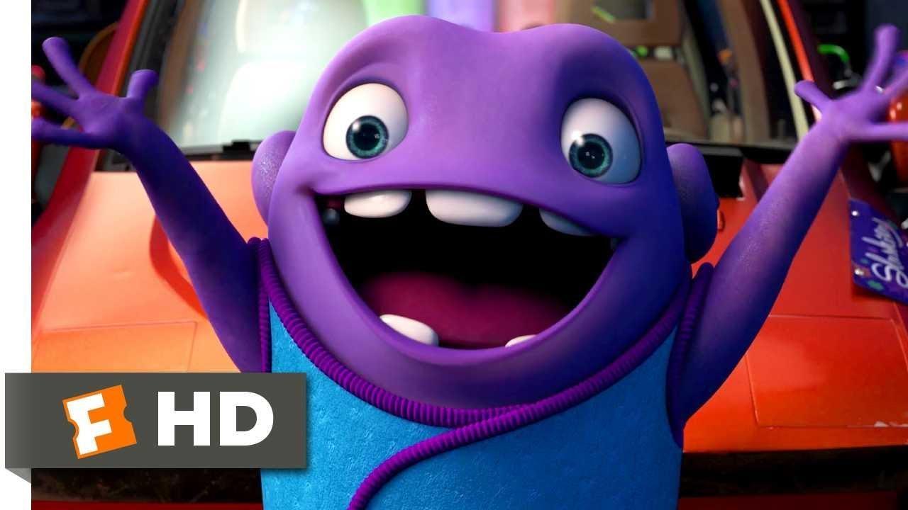 Download Home (2015) - The Slushious Scene (1/10) | Movieclips