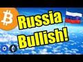 Russia Just Released the Cryptocurrency Bulls...LEGALLY ...