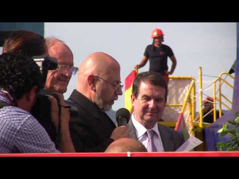 """Entrega del """"Lay Vessel 108"""" 09/09/2014"""
