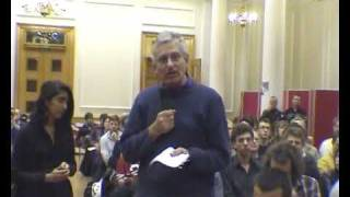 Chris Harman - the Future of Capitalism - speech from floor - KCL Oct 2009