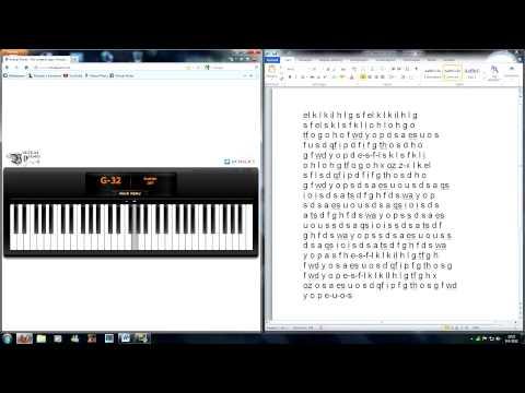 Piano virtual piano chords : Virtual Piano - Yiruma, River Flows in You - YouTube