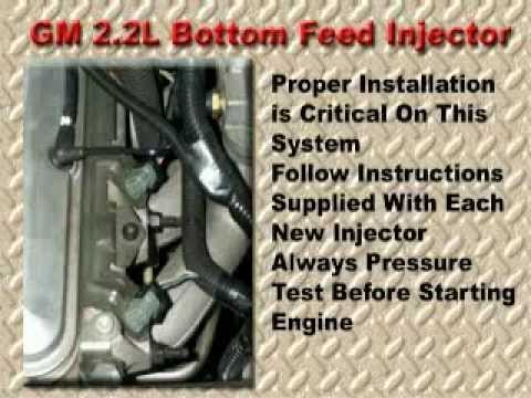 GM 2.2L Bottom Feed Injector