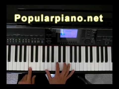 how to play walking in memphis on piano by jeff