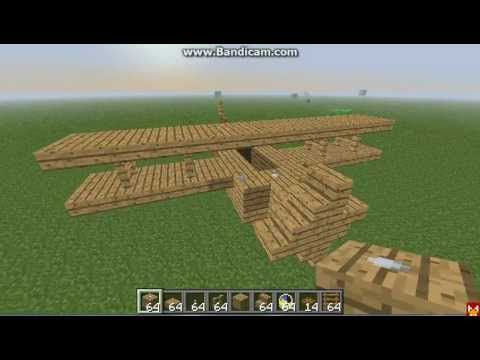 how to make a airplane fly in minecraft