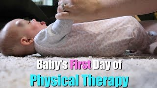 Baby in Therapy!! |  First Day! | Kalyn and Robert