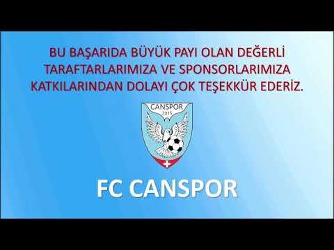 Tebrik mesajları | Şampiyon FC Canspor