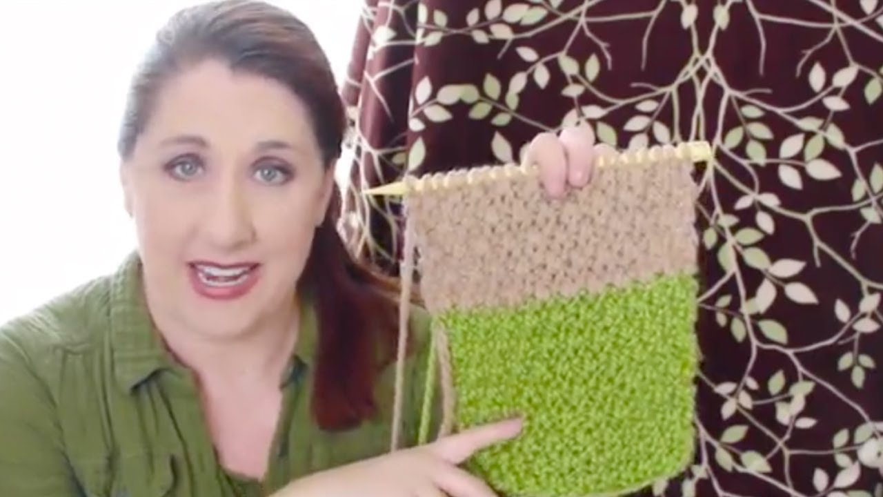 664126a44467a IRISH MOSS Knit Stitch Pattern - YouTube