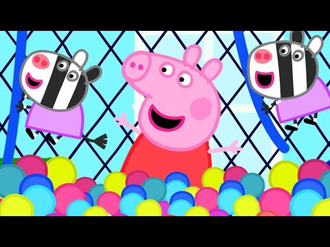 Kids TV & Stories   Peppa Pig And George Pig Love The Soft Play Centre!   Peppa Pig Full Episodes