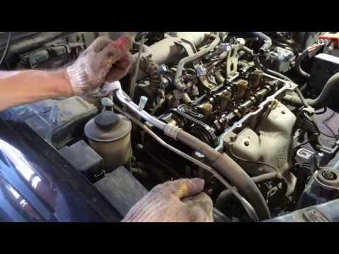 Nissan teana j31 замена цепи грм