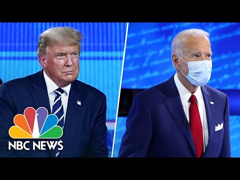 Highlights From Trump And Biden's Dueling Town Hall Events | NBC News