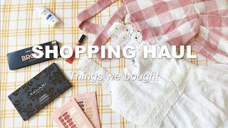 미국 쇼핑 하울 | 원피스, 가디건, 점프수트, 티셔츠…