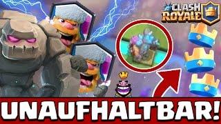 UNAUFHALTBAR! | GOLEM+HOLZFÄLLER+MINI PEKKA | KRASSES TURNIER ENDE | TOBIAS SPIRITHAWK |CLASH ROYALE