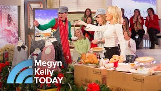 Megyn Kelly Audience Receives Turkey Meals, Sparkly Holiday Apparel | Megyn Kelly TODAY
