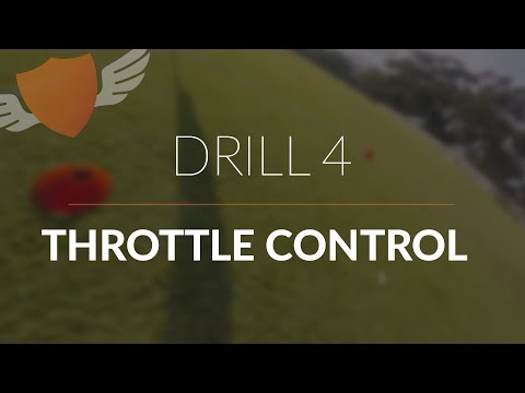 How-to Fly FPV Quadcopter/Drone // Beginner: Drill 4 // Throttle Control