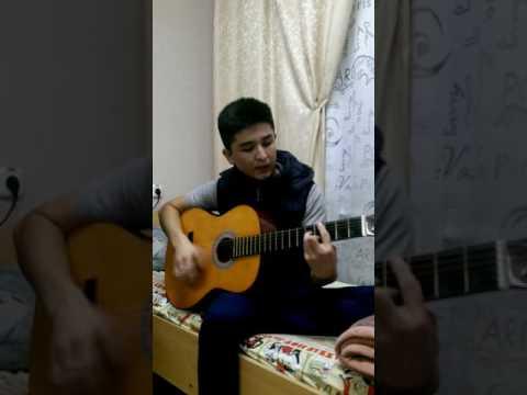 uzbek qoshiq gitarada Murat Halbayev