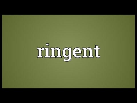 Header of ringent
