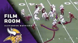 Film Room: Alexander Mattison's Style A Perfect Fit For Minnesota Vikings Zone Running Attack