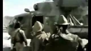 Russian Soviet War Song Farewell, Afghan