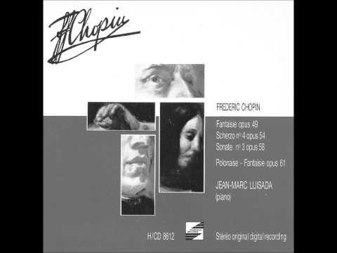 JEAN-MARC LUISADA plays CHOPIN Polonaise-Fantaisie Op.61 (1986)