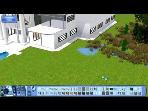 Sims 3 Haus Bauen #4 - Villa mit Pool (Pool Mansion)